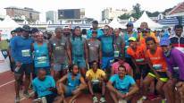 the group who ran for 36 hours