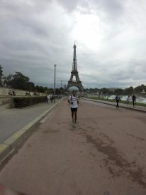 Kieren close to the Effiel Tower